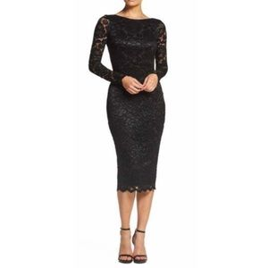 Dress the Population Emery Lace Body-Con Dress
